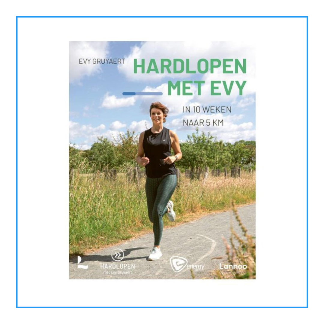 Hardlopen met Evy boek cover
