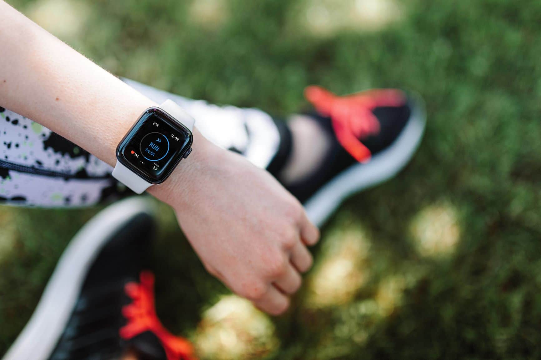 applewatch 4 Hardlopen met Evy