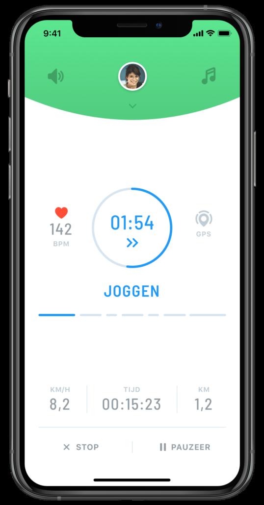 iphone run segment evy nl