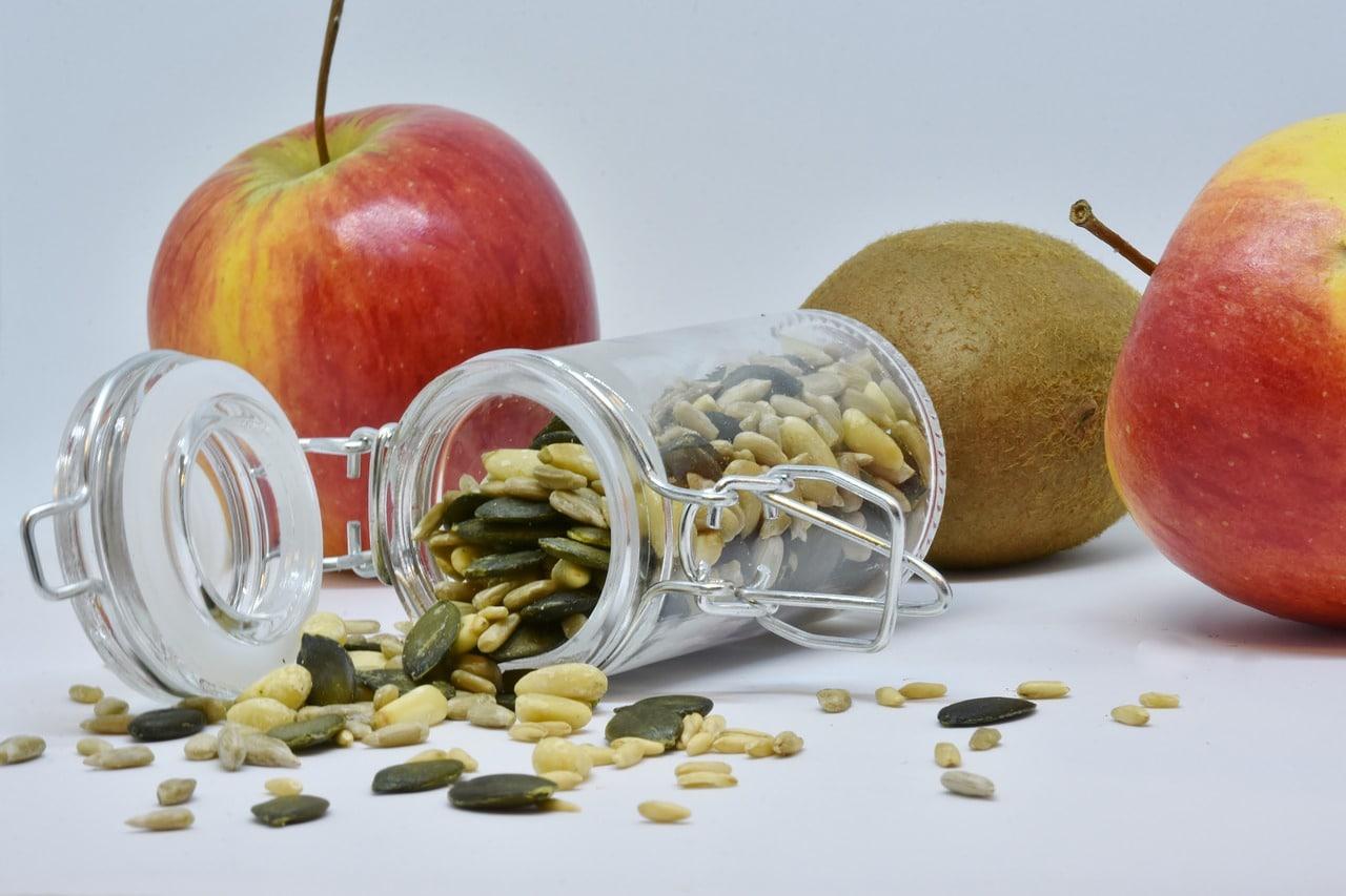 voeding ABC met koolhydraten, vetten, suikers,vitaminen en mineralen